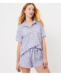 LOFT Ladybug Pyjama Top - Blue