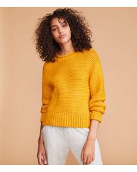LOFT Lou & Gray Rollneck Sweater - Yellow