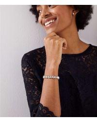 LOFT - Crystal Slider Bracelet - Lyst