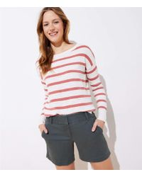 LOFT - Riviera Shorts With 6 Inch Inseam - Lyst