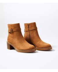 LOFT Ankle Riding Boots - Brown