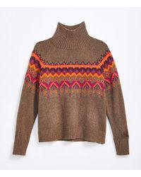 LOFT Lou & Grey Fair Isle Sweater