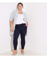 LOFT - Plus Leggings In Speckled Patch Pocket - Lyst