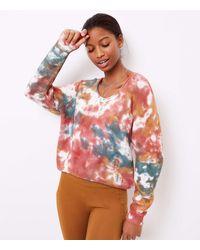 LOFT Lou & Grey Tie Dye Sweater - Multicolour