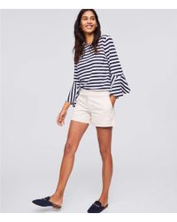 LOFT - Petite Riviera Shorts With 3 1/2 Inch Inseam - Lyst