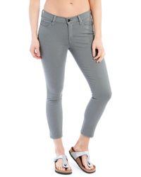 Lolë Skinny Ankle Jeans - Gray