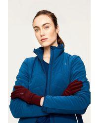 Lolë Stretch Fleece Gloves - Blue