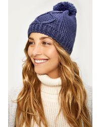 Lolë - Chunky Knitwear Beanie - Lyst