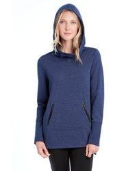 Lolë Gali Hooded Sweater - Blue