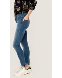 Lolë Skinny Long Yoga Jeans - Blue