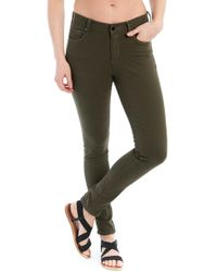 Lolë Skinny Long Jeans - Green