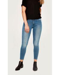 Lolë Skinny Ankle Yoga Jeans - Blue