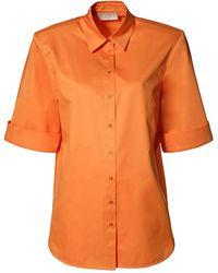 AGGI Demi Nectarine Shirt - Orange