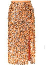 AGGI Layla Nectarine Skirt - Orange