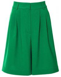 AGGI Billie Poison Green Bermuda Shorts