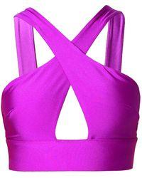 AGGI Isla Proton Purple Top - Multicolour