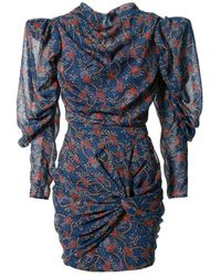 AGGI Vanessa Blue Sapphire Dress