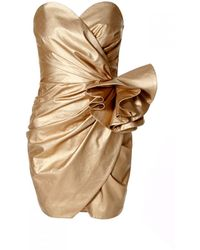 AGGI Alessandra Vegas Gold Dress - Multicolour