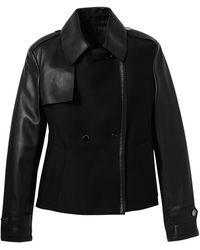 Longchamp Manteau Collection Automne-Hiver 2021 - Noir