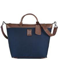 Longchamp Sac de voyage Boxford - Bleu