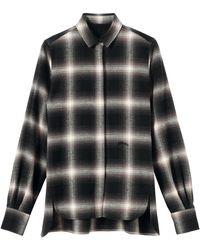 Longchamp Chemise Collection Automne-Hiver 2021 - Noir
