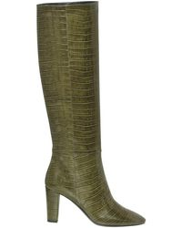Longchamp Bottes à talon Collection Automne-Hiver 2021 - Vert