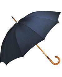 Longchamp Parapluie canne Classique - Bleu