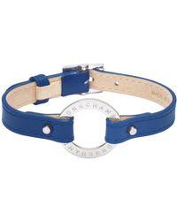Longchamp Bracelet Le Foulonné - Bleu