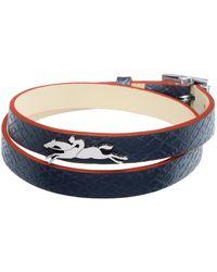 Longchamp Bracelet Le Pliage Club - Bleu