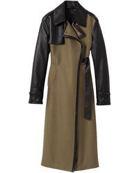 Longchamp Manteau Collection Automne-Hiver 2021 - Multicolore