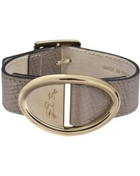 Longchamp Bracelet Mailbox - Marron