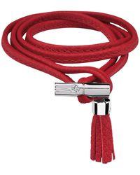 Longchamp Bracelet Roseau - Rouge