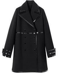 Longchamp Manteau long Collection Automne-Hiver 2020 - Noir