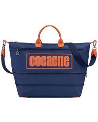 Longchamp Sac de voyage Cocagne - Bleu