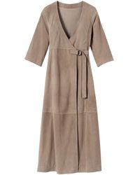 Longchamp Robe Collection Automne-Hiver 2021 - Neutre