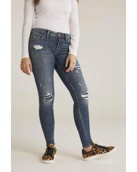 Silver Jeans Co. Tall Silver Avery Skinny Jean - Blue