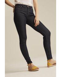 Silver Jeans Co. Tall Silver Mazy Skinny Jean In Dark Denim - Blue