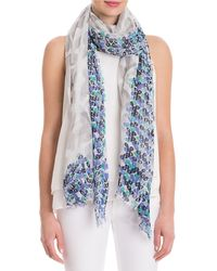 NIC+ZOE - Mosaic Tile Scarf - Lyst