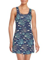 Munki Munki - Tropical Fish Sleep Dress - Lyst