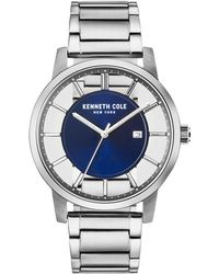 Kenneth Cole - Stainless Steel Transparency Bracelet Watch - Lyst