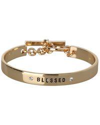 BCBGeneration - Blessed Inscribed Bracelet - Lyst