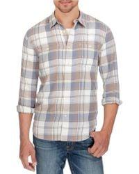Lucky Brand - Mason Plaid Workwear Shirt - Lyst