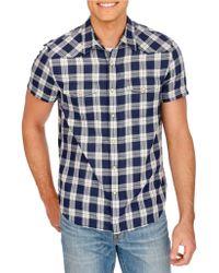 Lucky Brand - San Berdu Cotton Gingham Check Shirt - Lyst