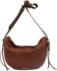 Lucky Brand - Nyla Leather Crescent Hobo Bag - Lyst