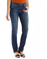 Lucky Brand Sweet N Straight Jeans - Blue