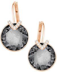 Swarovski - Bella Large V Drop Earrings - Lyst