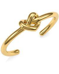Kate Spade - Loves Me Knot Cuff Bracelet - Lyst