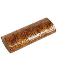 Corinne Mccormack - Crocodile Print Magnetic Glasses Case - Lyst