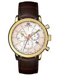 88 Rue Du Rhone - Men's Double 8 Origin Leather Chronograph Watch - Lyst