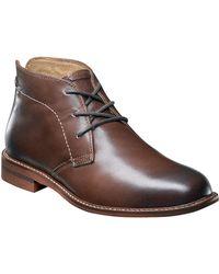 Florsheim Doon Leather Chukka Boots - Brown